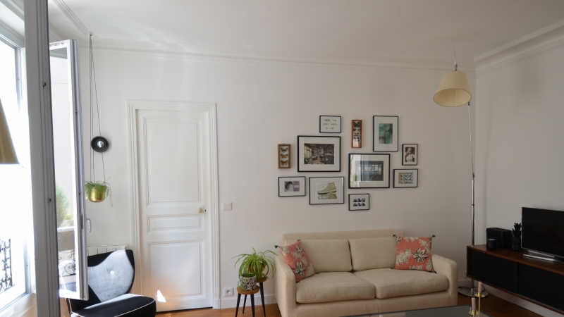 Réunion de deux appartements à Paris photo 3