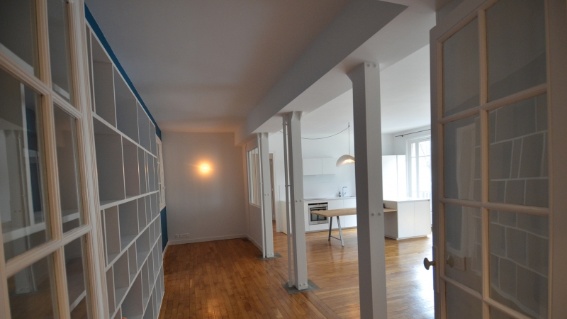 Rénovation complète d'un appartement à Paris photo 3